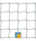 OGRODZENIA BOISK - siatka na boisko - 3 mm / 4,5 x 4,5 cm