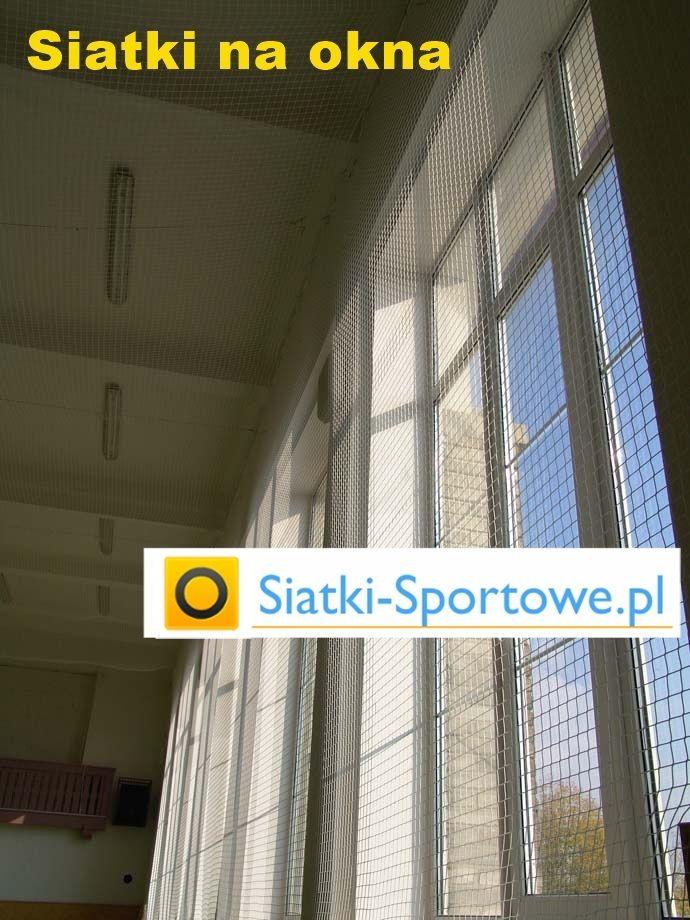 Piłkochwyty na okno - siatki do okien na piłkochwyty