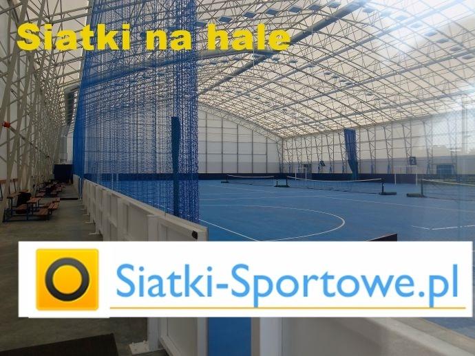 Piłkochwyty na hale sportowe