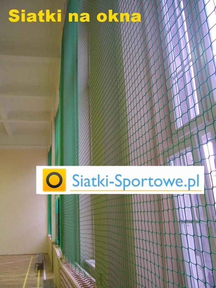 Siatki ochronne i zabezpieczające na hale sportowe