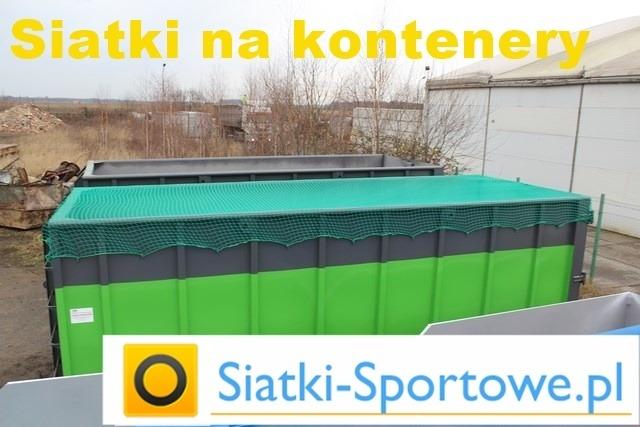 Siatki na kontenery do przewozu gruzu i śmieci